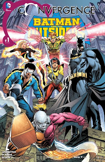 Cover of Convergence: Batman and the Outsiders #1 from DC Comics