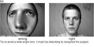 Совет 64. Сверхширокоугольные объективы не подходят для портретной съемки