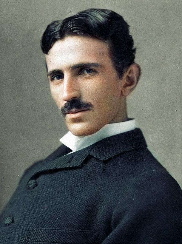Nikola Tesla, 1893
