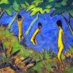 Paisatge amb nus grocs (Otto Mueller)