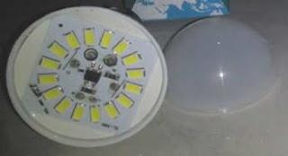 LED SMD didalam lampu LED untuk Penerangan