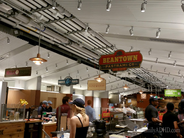 Beantown Pastrami Boston Public Market indoor farmer's market open in Boston Blogger Tour