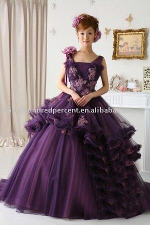 Wedding Ring Violet Dresses