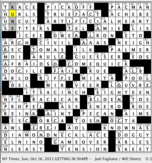 Rex Parker Does The Nyt Crossword Puzzle Mouse In Classic Daniel
