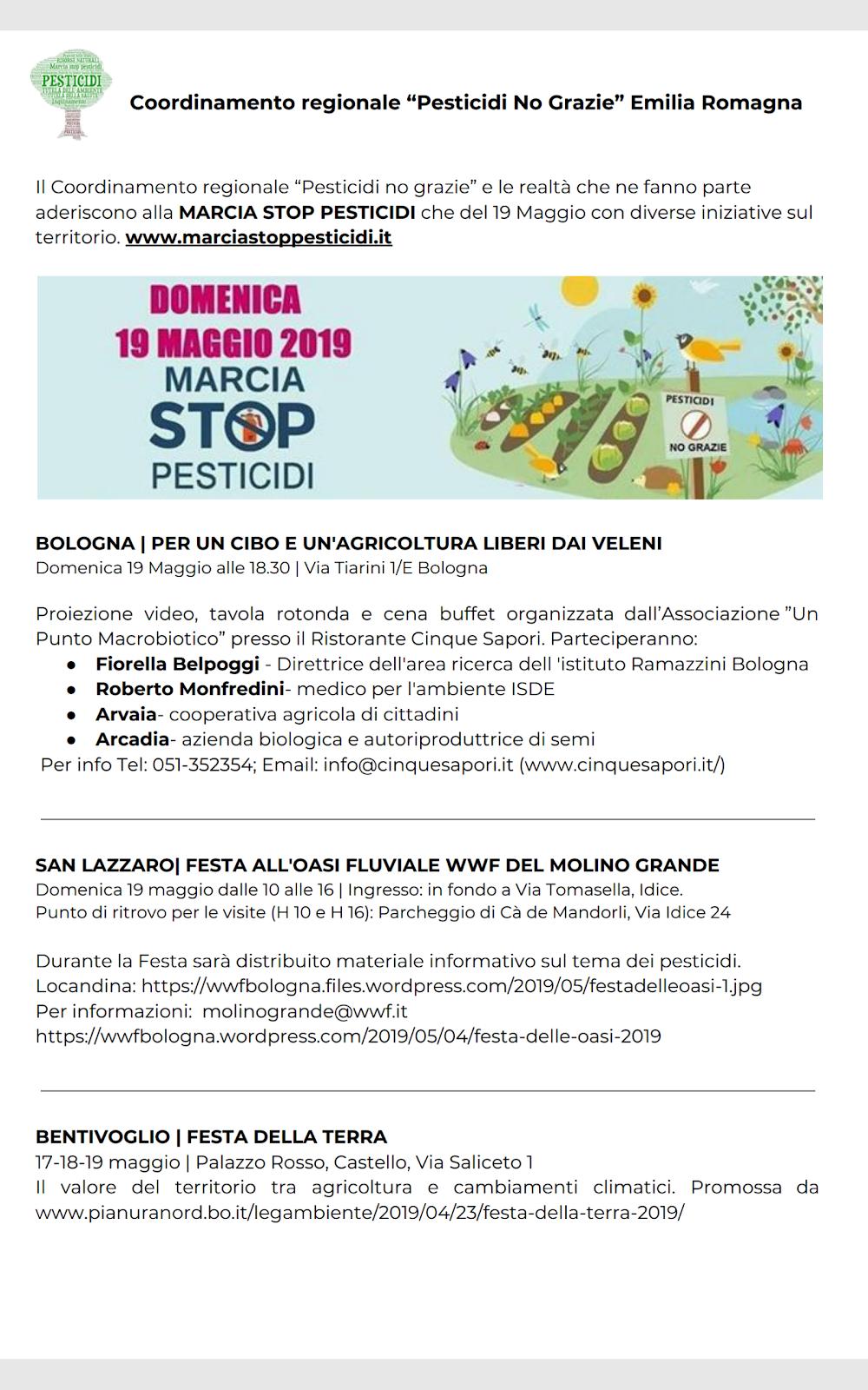 Bologna 19 maggio