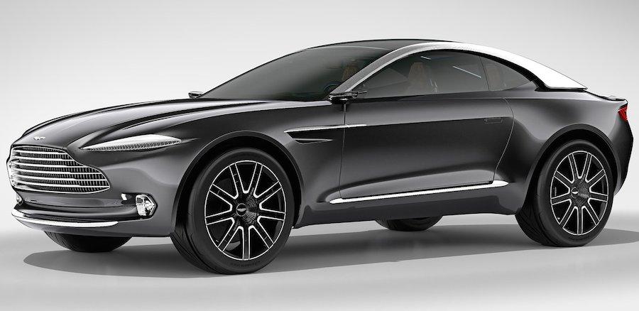 アストンマーチン・ラピードの後継は「ラゴンダ」と「DBX」の市販モデル?