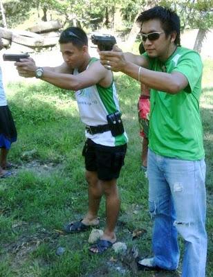 policemen firing squad