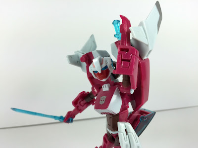 transformers animated prototype used for packaging photography