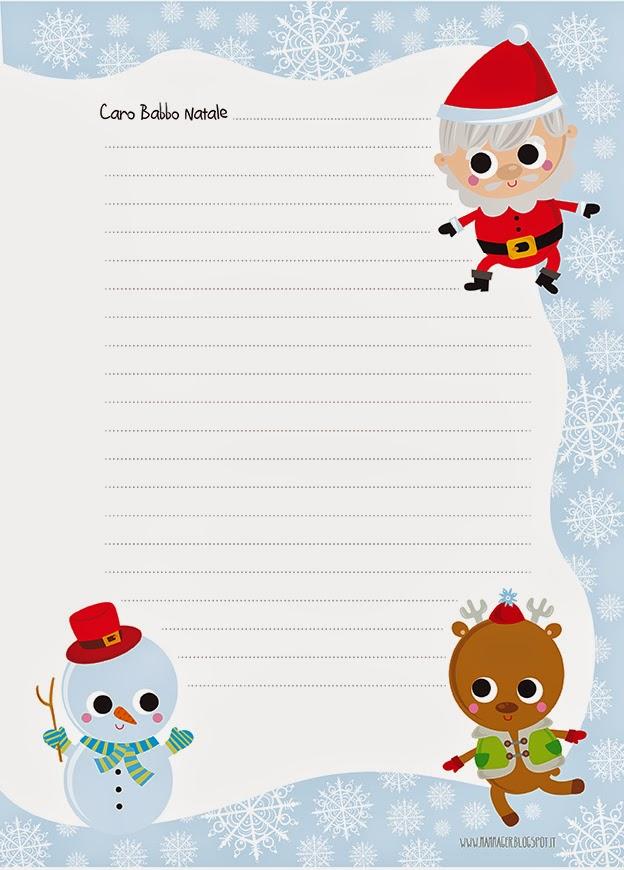 """Super MAMMAger: """"Caro Babbo Natale"""" scriviamo una lettera (modelli  US19"""