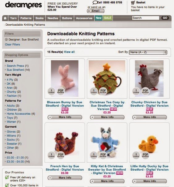 http://www.deramores.com/downloadable-knitting-patterns?pattern_designer=9151