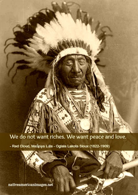 native american quote by Red Cloud