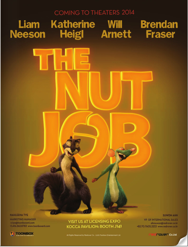 La película The Nut Job