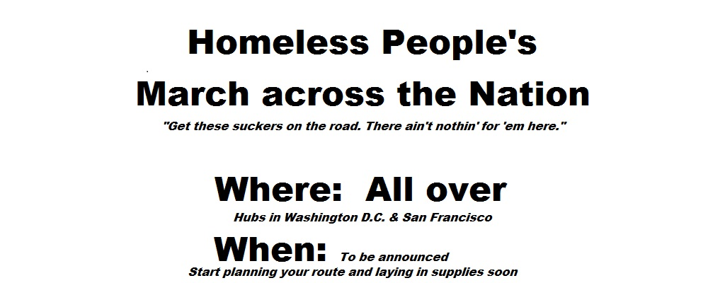 Homeless People's March