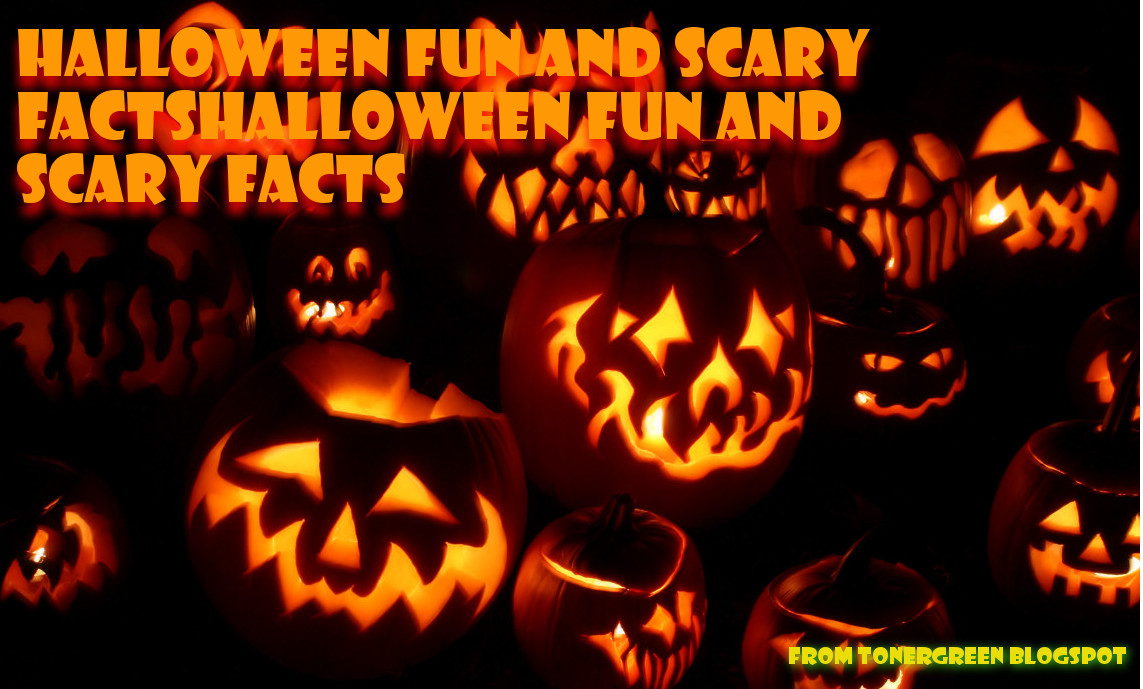 halloween fun and scary facts | tonergreen - eco-friendly toners