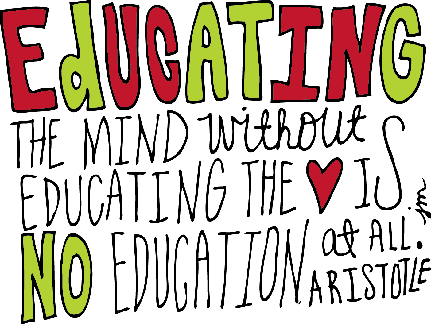 Aristotle quote on Education