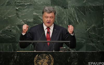 Петр Порошенко в своем выступлении на сессии Генассамблеи ООН использовал фразу Cool story относительно заявлений президента России