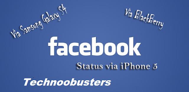 Update+status+via+iphone 5+blackberry+galaxy s4