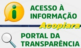 Acompanhe os gastos da Prefeitura de Acopiara