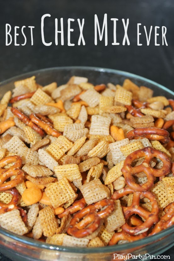 Pin Project: Best Chex Mix Ever - Play.Party.Pin