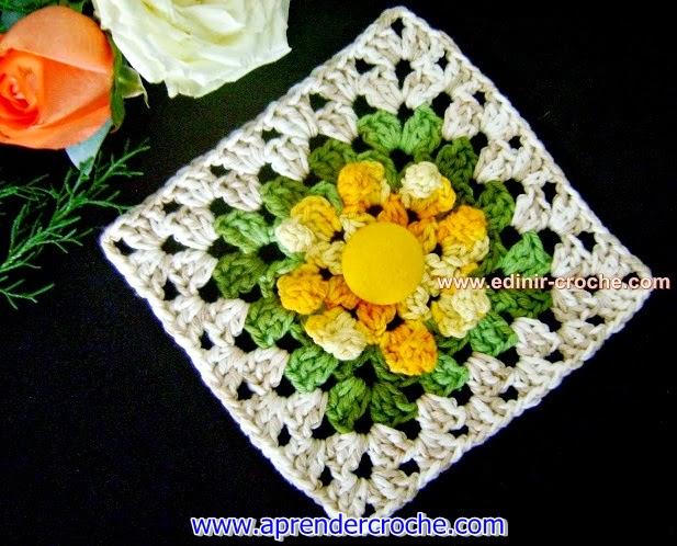 dvd curso video-aulas loja frete gratis square flores blog aprender croche com edinir-croche