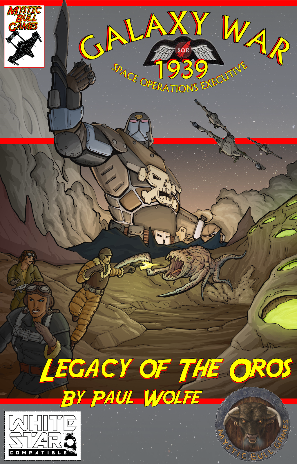 Galaxy War 1939: Legacy of Oros