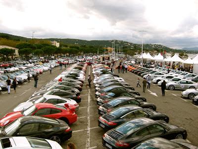 Paradis Porsche 2012 St Tropez Carrerament.com