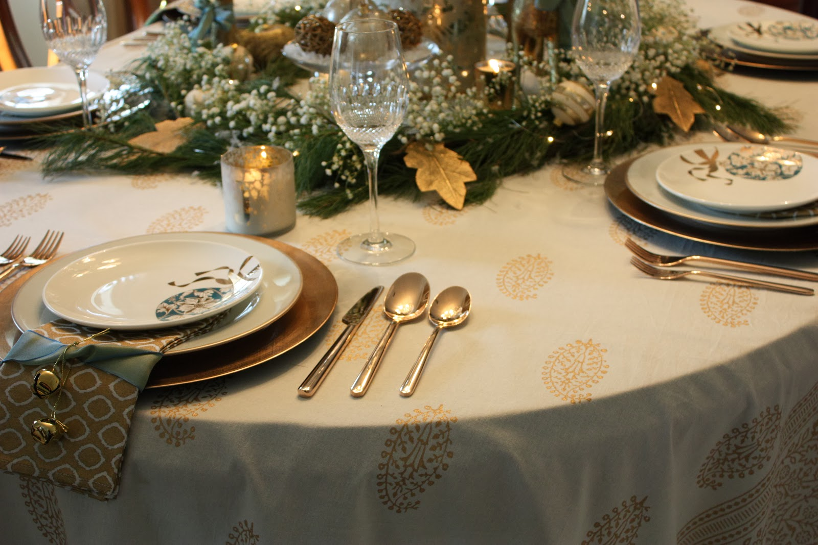 Inspiration In Stages My Christmas Tablescape For 2013