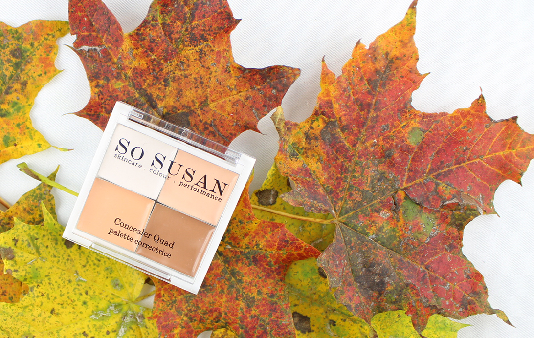 Glossybox Herbstzauber Edition - So Susan Cosmetics - Concealer Quad