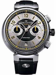 Montre Louis Vuitton Tambour Volez Chronographe Flyback référence Q10280