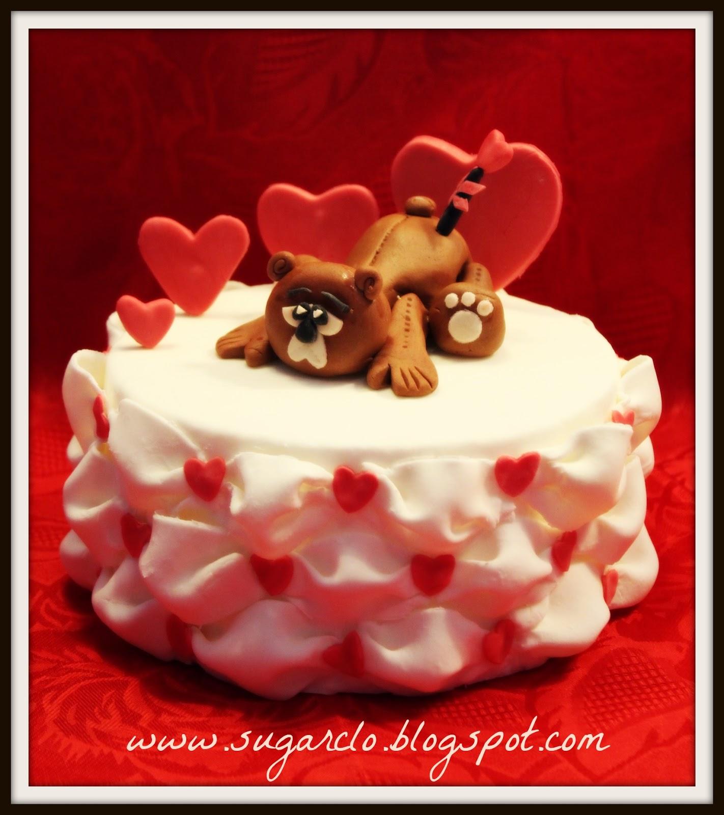 Sugarclo i pasticci di clo corso base per san valentino - San valentino decorazioni ...