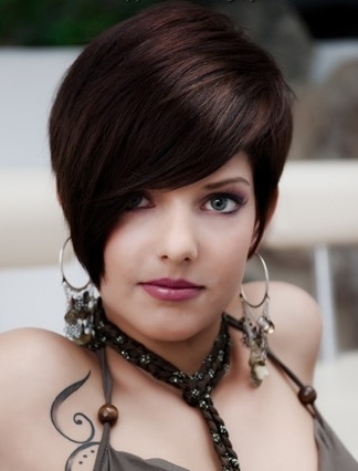 Girls Short Hair Styles 2012 Trendy Fashionable Dresses