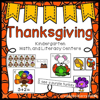 https://www.teacherspayteachers.com/Product/Thanksgiving-Kindergarten-Math-and-Literacy-Centers-2192721