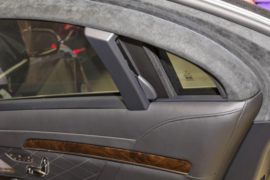 メルセデスベンツSクラスの防弾仕様車「Sクラス・ガード」