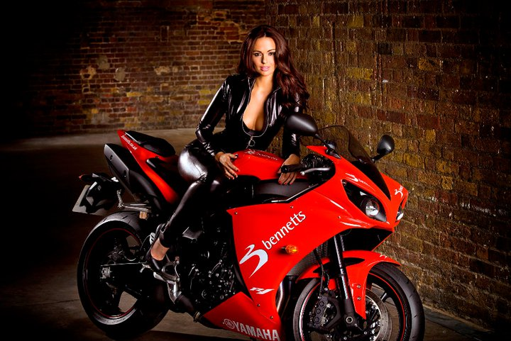 Jennifer Metcalfe - Biker Babe Pictures and Video