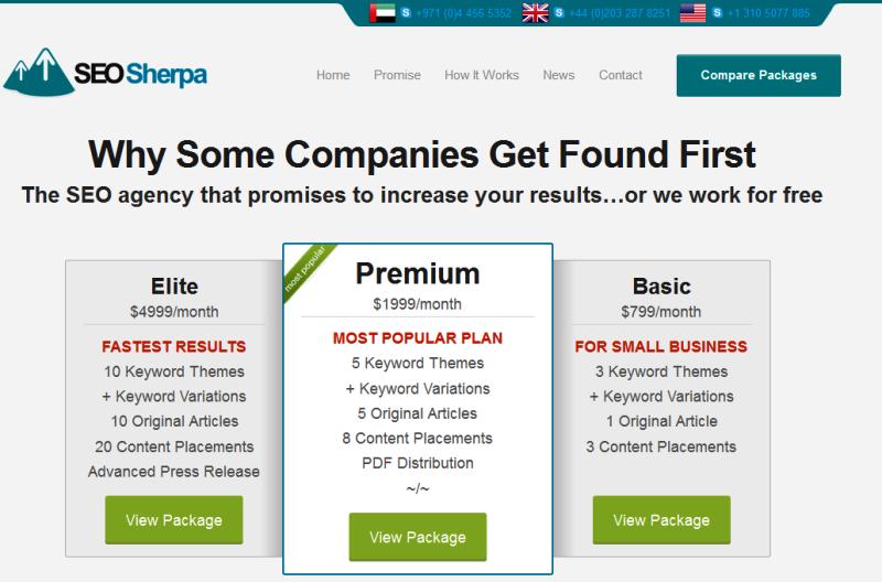 reputable SEO services provider