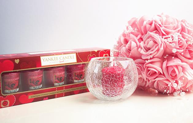 Yankee Candle True Rose Votives Gift Set | Charmed Charlee