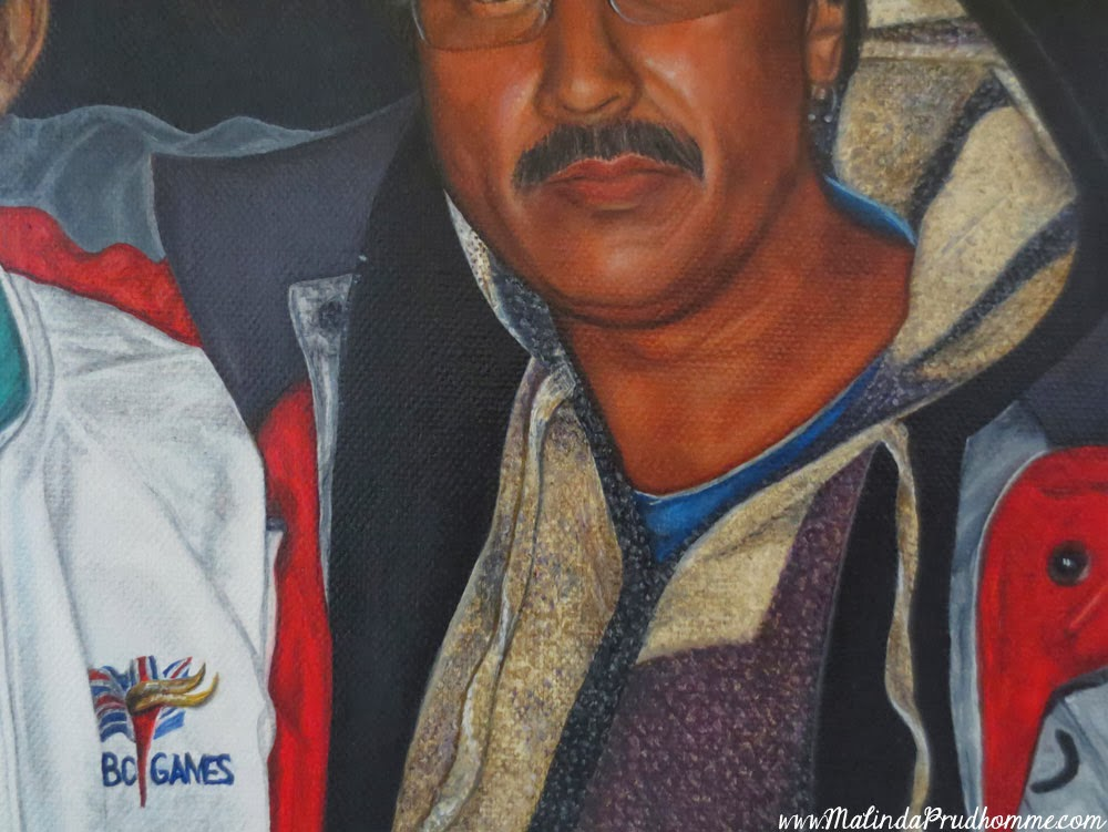 father son portrait, portrait painting, portrait artist, men portraits, father gift, original artist, custom portrait, custom artwork, commissioned artwork, commissioned portraiture, toronto portrait artist, portrait art, realistic painting, realistic portraiture