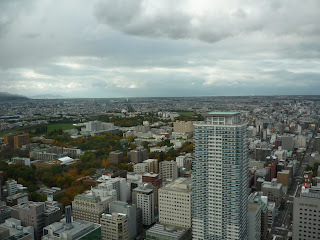 Another view of Sapporo city taken from the T38 floor of the JR tower