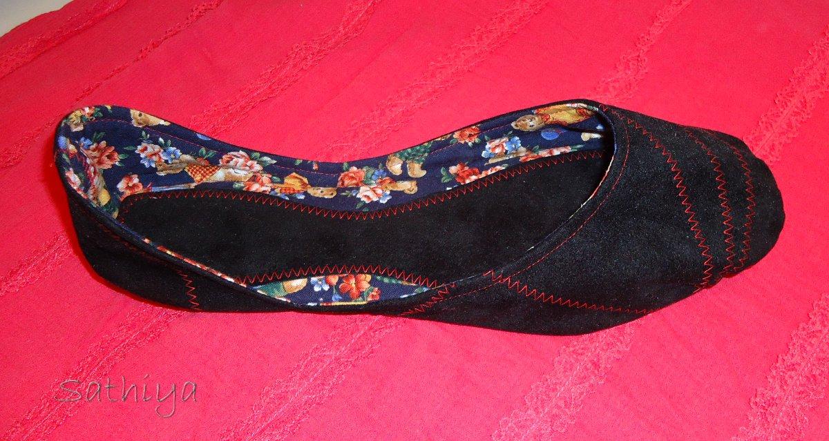 Sathiyas Nähprojekte: Schuhe machen 3
