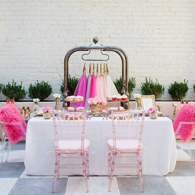 Pinterest Pink Cute Dinner Party Setting