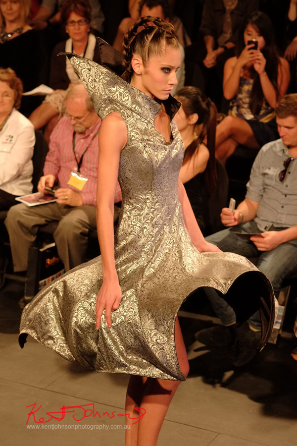 Space Age style, Raffles College 2012 Graduate Fashion Show Carriageworks, Everleigh Sydney, Fujifilm X-Pro1 XF60mmF2.4R 