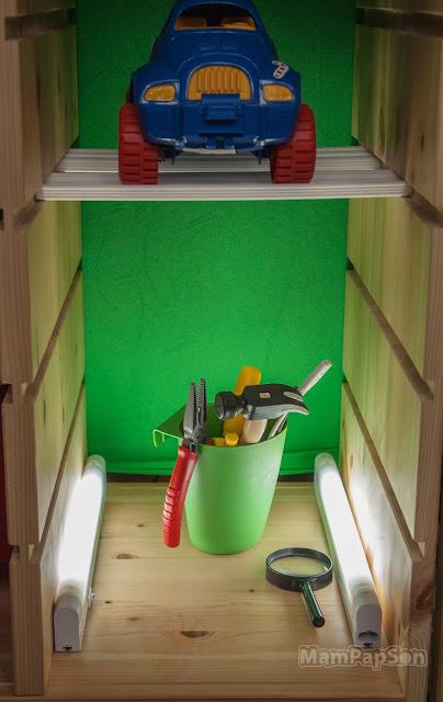 игрушечная ремонтная мастерская