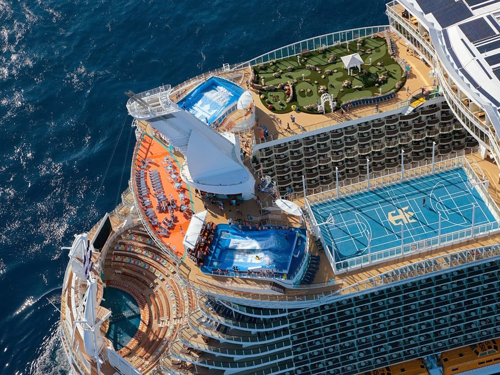 Luxury Life Design Allure Of The Seas  The Largest And Most Expensive Passe
