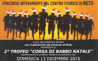 CLASSIFICA Trofeo Corsa di Babbo Natale 2015