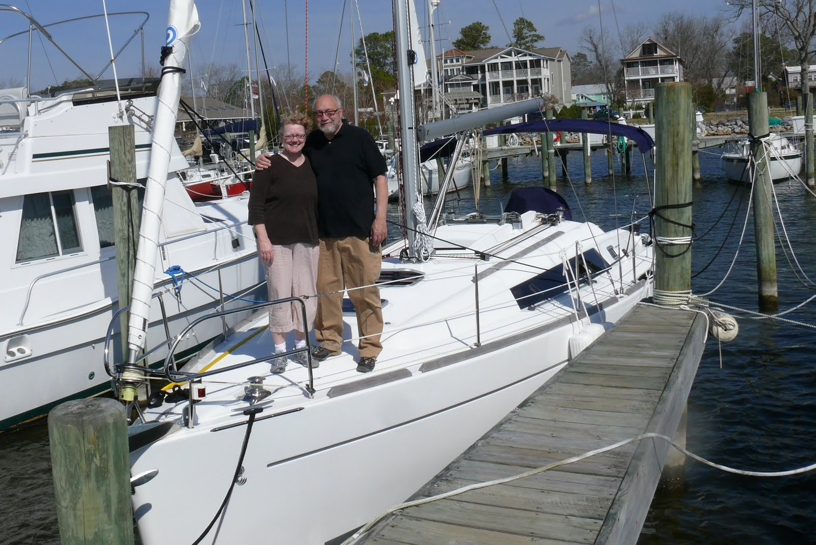 """Breezy"" Beneteau 34. Our newest members of the St. Barts Family, ..."