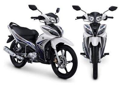 Gambar New Jupiter Z White Motor Yamaha Baru