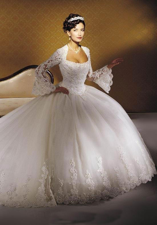 long sleeved wedding dresses wedding plan ideas On princess wedding dress with sleeves