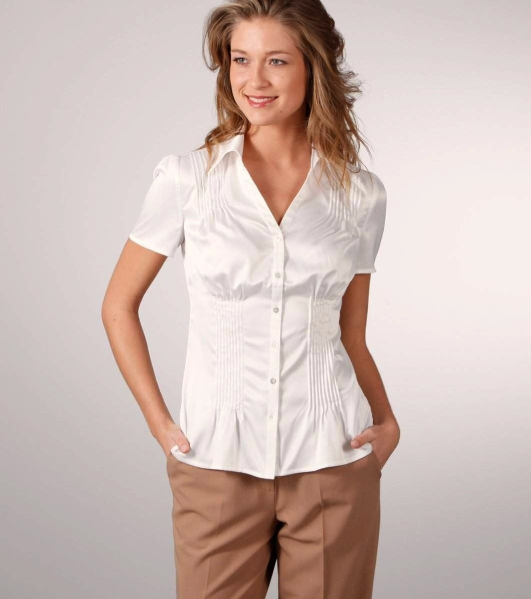 short sleeve blouses - women's tops. Item Type: blouses. Sleeve Length: short sleeve. Worthington Washed Satin Blouse - Plus. Add To Cart. Only at JCP. BUY MORE AND SAVE WITH CODE: ACTNOW9. $ Worthington Short Sleeve V Neck Woven Blouse - .