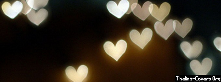 Heart Lights Facebook Cover | Facebook Covers
