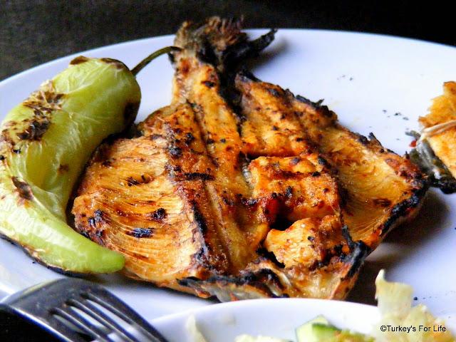 Kızarmış Alabalık - Fried Trout, Erciş